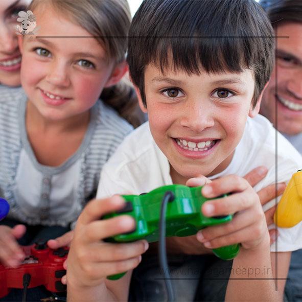 تاثیر بازی های کامپیوتری بر کودکان